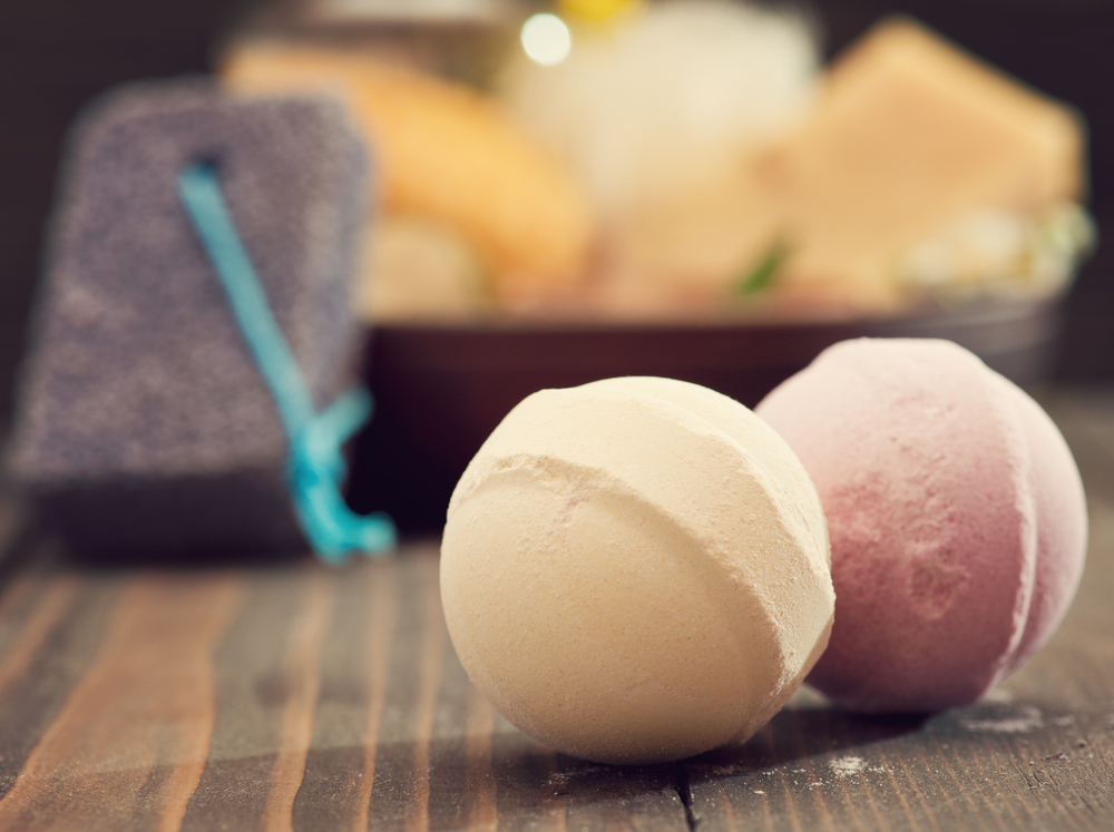 bath bombs manufacturing